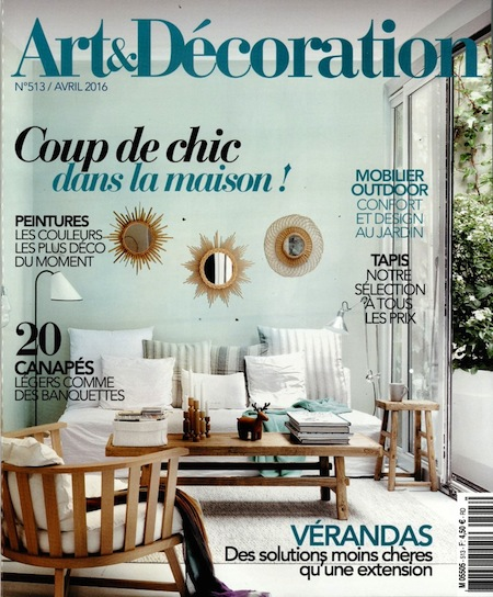 Art et decoration with revue art et dcoration